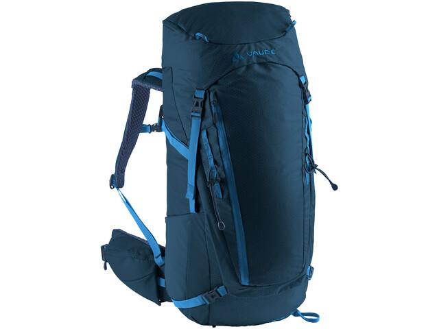 VAUDE Asymmetric 42+8 Rugzak, blauw
